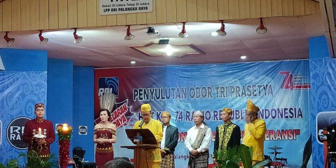 Pelayanan Informasi Melalui RRI Belum Semua Menjangkau Kalimantan Tengah