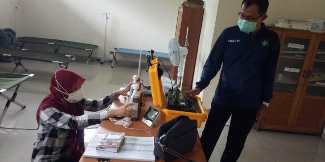 BBTKLPP Pantau Kualitas Udara Dalam Ruangan Yankes di RSUD Kota Palangka Raya