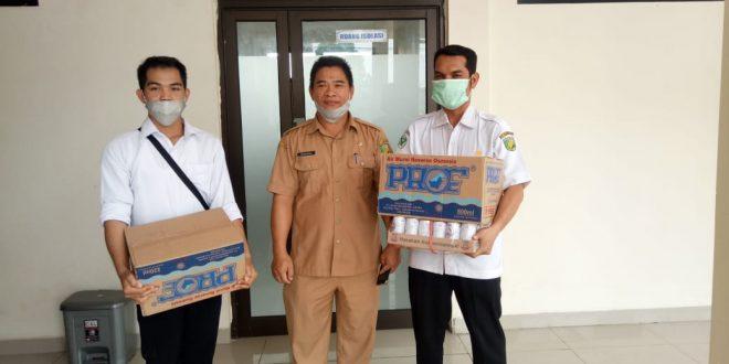 Dinas Perkim Berikan Bantuan Logistik ke Posko Siaga Karhutla Kota Palangka Raya