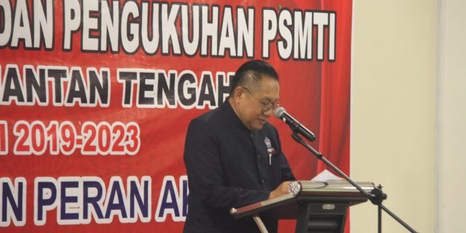 Pelantikan dan Pengukuhan Paguyuban Sosial Marga Tionghoa Indonesia Provinsi Kalimantan Tengah