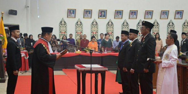 Walikota Harapkan Unsur Pimpinan DPRD Sukseskan Visi RPJMD
