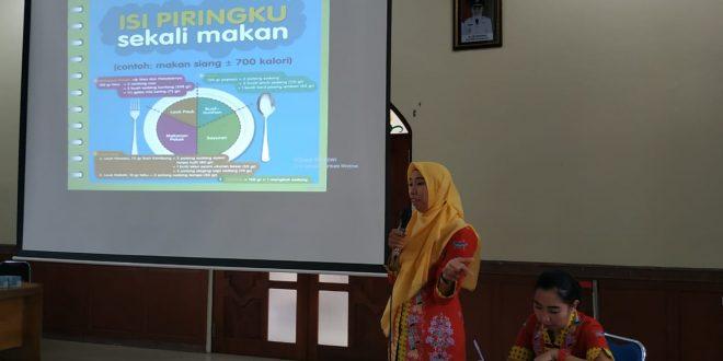 Dharma Wanita Kota Palangka Raya Gelar Sosialisasi Gizi Seimbang