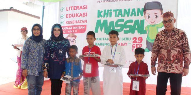 Khitanan Masal Gratis 50 Anak