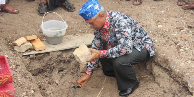 Peletakan Batu Pertama Pura Prajapati