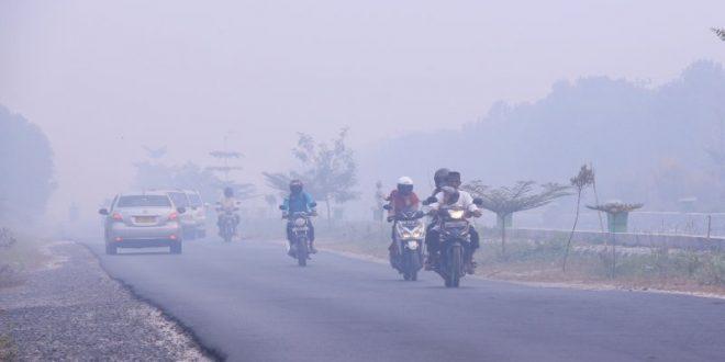 Jarak Pandang di Lima Daerah Kian Pendek