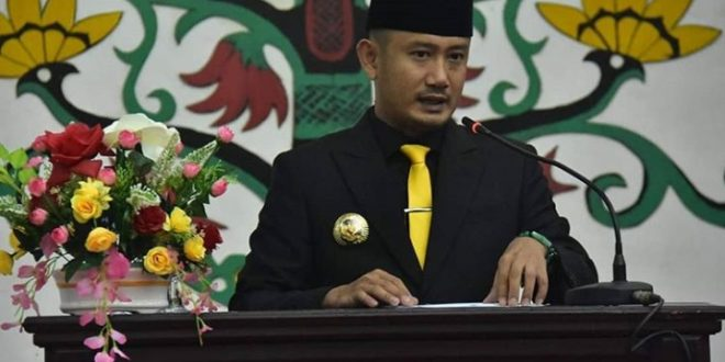Pengucapan Sumpah Janji Pimpinan DPRD Kota Palangka Raya Masa Jabatan2019-2024