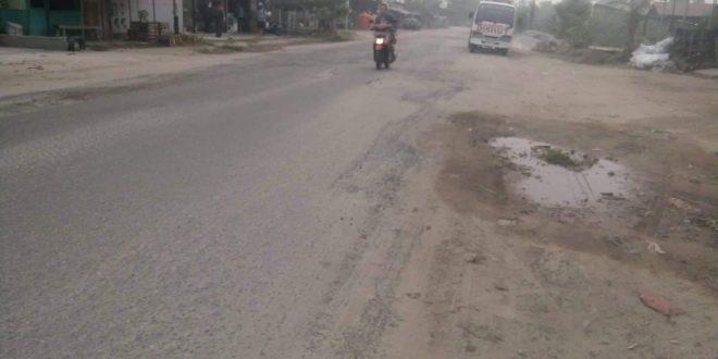 PUPR Siapkan Rp2 Miliar Perbaiki Jalan Rajawali Km 7