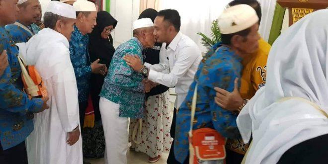 323 Jemaah Haji Palangka Raya Tiba di Banjarmasin