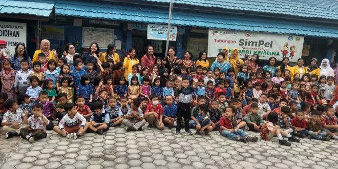 Hari Batik Nasional, TK Negeri Pembina Jekan Raya Kompak Kenakan Batik
