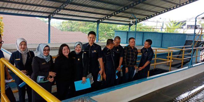 Pastikan Kualitas Air Bersih, Komisi B Kunjungi PDAM