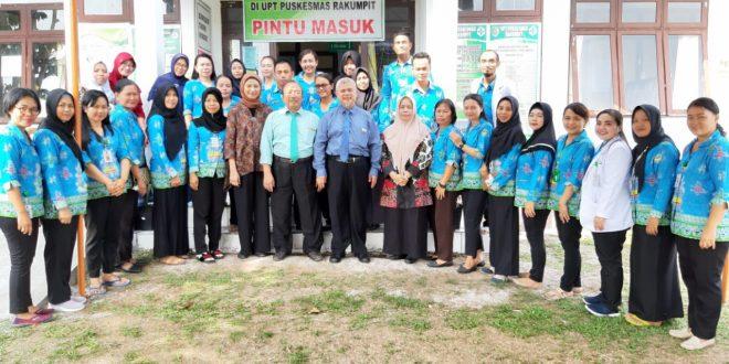 Tim Kementerian Kesehatan Melakukan Penilaian Akreditasi ke Puskesmas Rakumpit