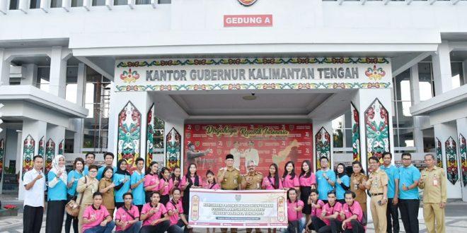 Sekda Provinsi Kalteng Lepas Tim KIM Kota Palangka Raya