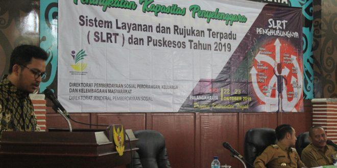 Pemerintah Kota Palangka Raya Gelar Bimtek SLRT dan Puskesos