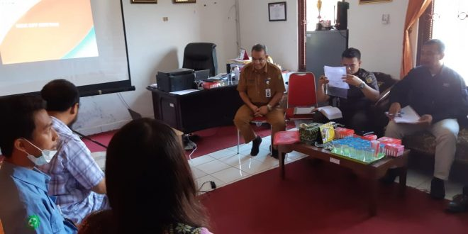 Rapat Persiapan Pelaksanaan Pekerjaan Pengadaan Peralatan Command Center Kota Palangka Raya