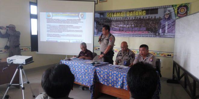 Rapat Pembinaan Anggota Satuan Polisi Pamong Praja Kota Palangka Raya
