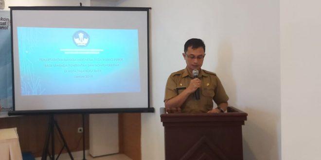 Penyuluhan Penggunaan Bahasa Indonesia Ruang Publik