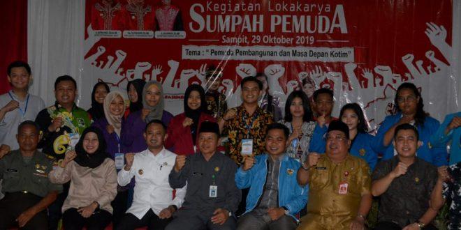 Walikota Palangka Raya Hadiri Lokakarya Sumpah Pemuda