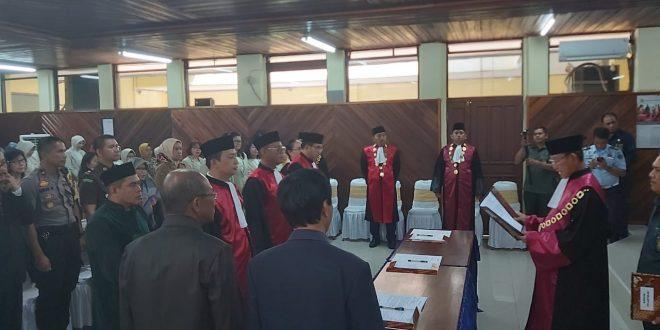 Pelantikan Ketua Pengadilan Negeri Palangka Raya, Tamiang Layang dan Kuala Kurun