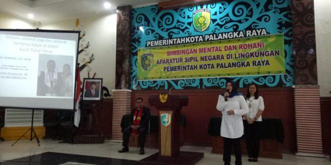 Wakil Walikota Dukung Kegiatan Pembinaan Rohani ASN Pemkot Palangka Raya