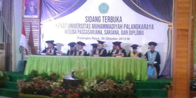 Universitas Muhammadiyah Palangka Raya Lahirkan Sarjana Berintelektual, Bermartabat dan Berakhlak Tinggi