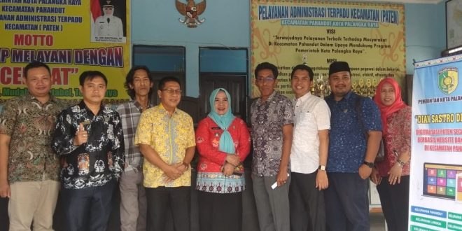 Menuju Smart City Kecamatan Pahandut Terapkan Paten Berbasis Online