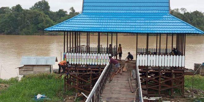 Kelurahan Tumbang Rungan Mempunyai Dermaga Wisata