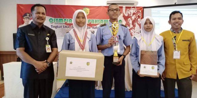 SMAN 5 Palangka Raya Juara 1 Olimpiade Kepahlawanan