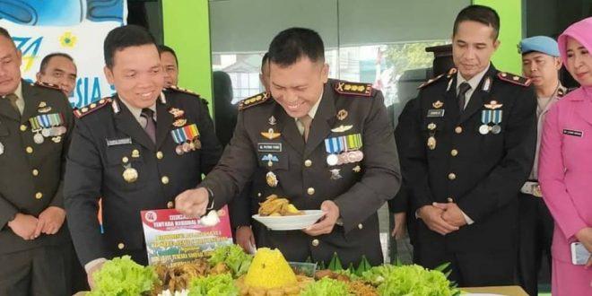 Kapolres Berikan Ucapan Selamat HUT TNI