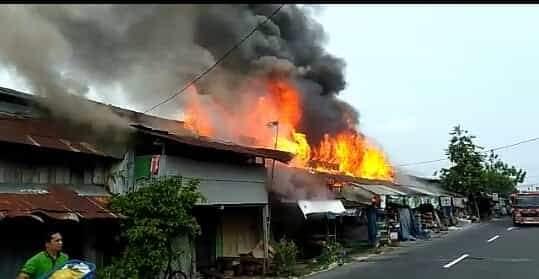 Sehari Dua Kali Terjadi Musibah Kebakaran