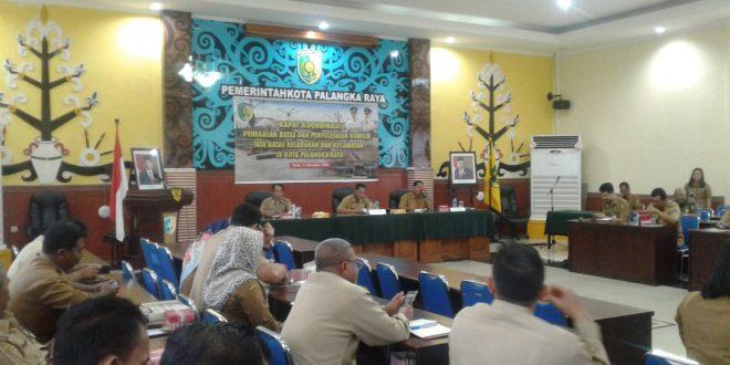 Rakor Penegasan Batas dan Penyelesaian Konflik Tata Batas Kelurahan dan Kecamatan