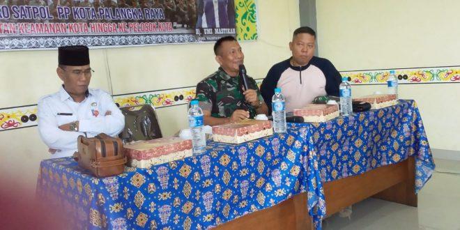 Rapat Pembinaan ASN Pol PP Kota Palangka Raya