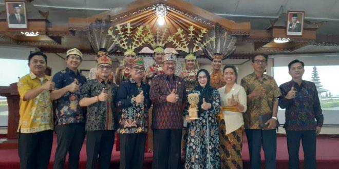 Pemko Palangka Raya Jajaki Kerjasama Pariwisata ke Bali