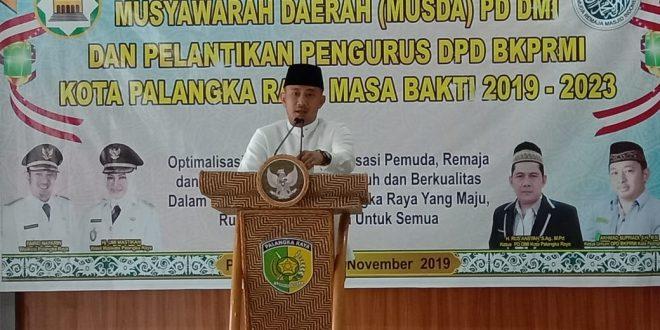 Pelantikan Pengurus DPD BKPRMI Kota Palangka Raya Masa Bakti 2019-2023