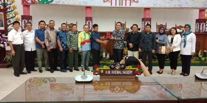 DPRD Kota Palangka Raya Terima Kunjungan Kerja DPRD Provinsi Tetangga