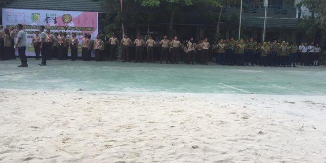 PPI Kota Palangka Raya Gelar Lomba Baris Berbaris