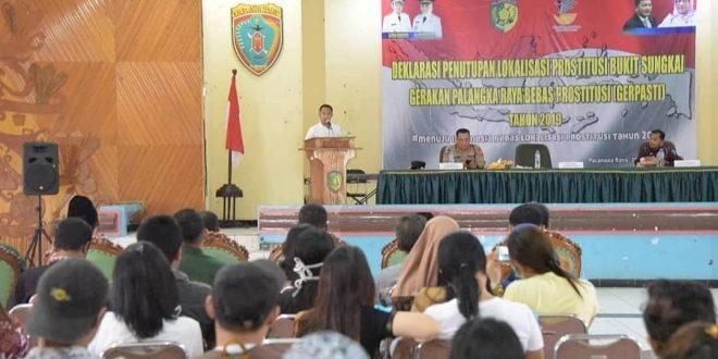 Deklarasi Penutupan Lokalisasi Bukit Sungkai
