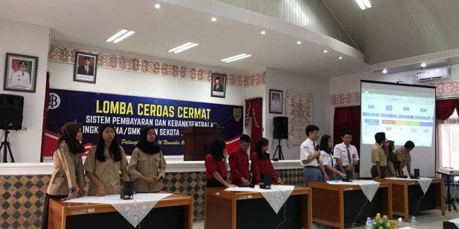 SMKN 2 Palangka Raya Juara I Lomba Cerdas Cermat Bank Indonesia