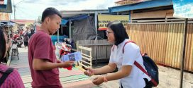 Diskominfo Lakukan Literasi Media Informasi di Dermaga Kereng Bangkirai