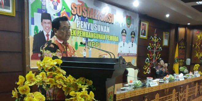 Sosialisasi Indek Pembangunan Pemuda Kalimantan Tengah Tahun 2019