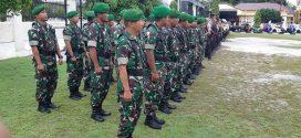Anggota Kodim 1016 Palangka Raya Ikut Gelar Pasukan Operasi Lilin Telabang