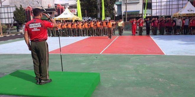 Turnamen Bola Voli Dandim Cup 2019 Diikuti 18 Tim