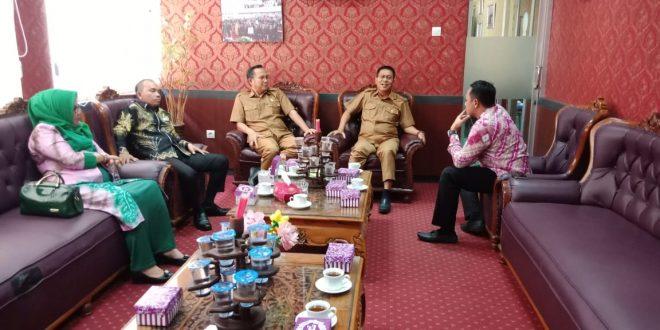 Pimpinan DPRD Batola Pelajari Tupoksi Pimpinan di DPRD Palangka Raya