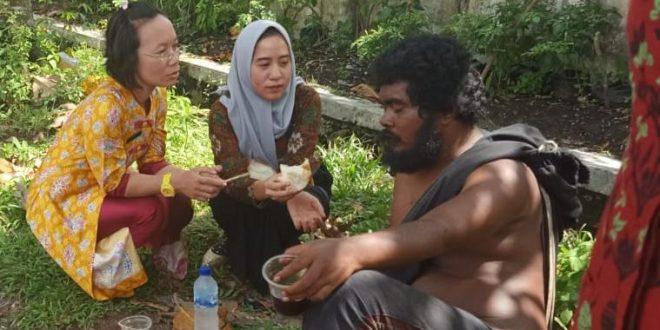 Dinas Sosial Evakuasi ODGJ ke RSJ Kalawa Atei