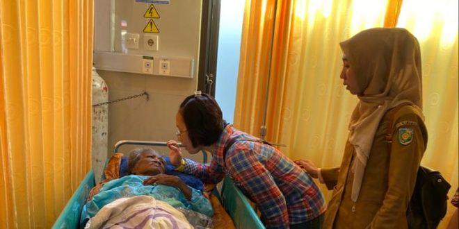Dinas Sosial Tangani Nenek Terlantar