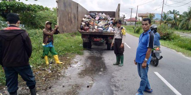 Tindak Tegas Buang Sampah Sembarangan