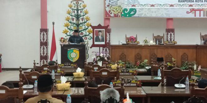 Mayoritas Fraksi Setuju Dua Raperda Pemko Palangka Raya Lanjut Dibahas