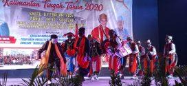 Pagelaran Seni Budaya Kalimantan Tengah Tahun 2020 di Palangka Raya