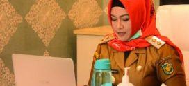 Umi Pimpin Musrenbang RKPD Kota Palangka Raya Via Video Conference