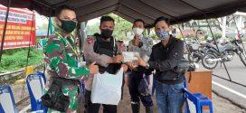 Dukung PSBB Walikota Serahkan 1000 Masker di Pos Pantau Check Point