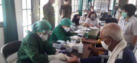 Rapid Test Massal Panti Sosial Trisna Werdha Singa Rangkang Kelurahan Banturung